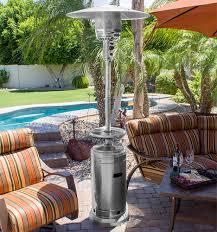 Patio Heater Heat Shield by Az Patio Heaters Outdoor Patio Heater In Stainless Steel