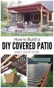 Simple Patio Cover Designs Diy Patio Cover Ideas Backyard Diy Patio Ideas Yodersmart