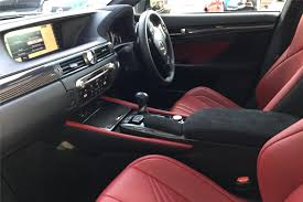 lexus gsf seats used 2016 lexus gs 5 0 4dr auto sunroof mark levinson for sale