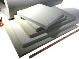 rembourrage coussin canapé découpe de mousse en plaque pour coussin de siège