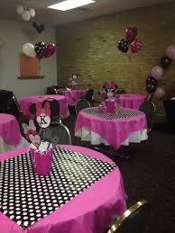 Pink And Black Minnie Mouse Decorations Minnie Mouse Party Decorations Minnie Mouse Party Pinterest