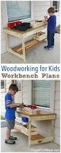 Diy Workbench Free Plans Diy Workbench Workbench Plans And Spaces kids u0027 workbench plans build your own kids u0027 woodworking space