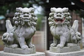 shisa statues alpha gamboa on hmm sphinx could be based king