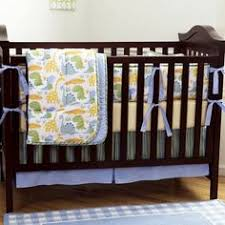 Truly Scrumptious Crib Bedding Truly Scrumptious Dinosaur Tracks Nursery Bedding Collection 4