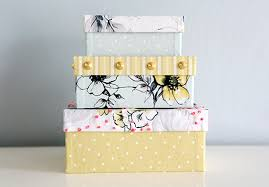 IHeart Organizing DIY Decorative Storage Box Ideas
