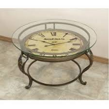 Clock Coffee Table Magnificent Clock Coffee Table Aspire Coffee Table With Clock