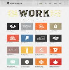 website portfolio grungy handmade style webdesign portfolio