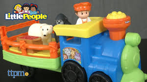 Fisher Price Toy Box Little People Choo Choo Zoo Train From Fisher Price Youtube
