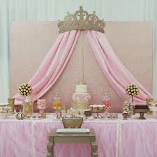 princess glam baby shower party ideas princess baby showers