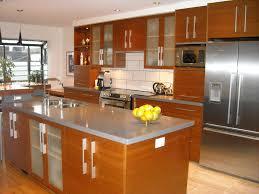 Orange Kitchen Design Ideas Glorious Black And Orange Kitchen Cabinets With Modern