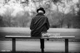Bench Photography Man Sitting Alone On Bench Stock Photo Getty Images