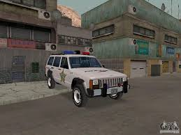 jeep police package jeep cherokee police 1988 for gta san andreas
