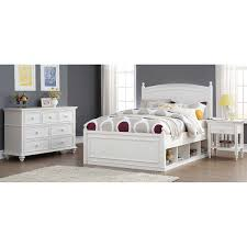 full bedroom sets costco mila 3 piece full storage bedroom set