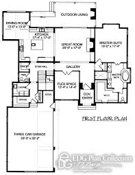 english style house plans 3 baths edg plan collection