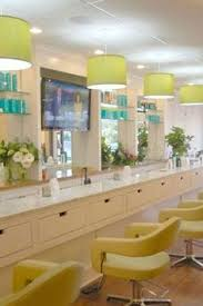 Hair Salon Decor Love The Clean Simple And White Maybe One Day Pinterest