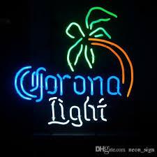 palm tree neon light 2018 corona light palm tree neon sign handcrafted custom real glass