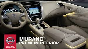 nissan pathfinder youtube 2015 2015 nissan murano premium interior youtube