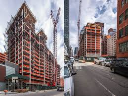 two building 392 unit residential development rises at 526 west