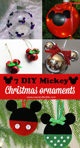 7 diy mickey mouse ornaments overstuffed