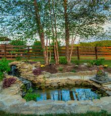 Waterfall In Backyard 57 Garden Water Feature Designs Designing Idea