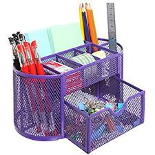 Desk Supplies For Office Mesh Desk Organizer Office Supply Caddy Drawer With