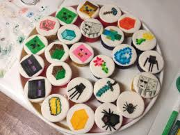 minecraft cupcakes cupcakes minecraft style minecraft