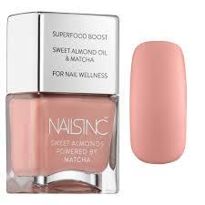sweet almond nail polish powered by matcha nails inc sephora