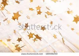 gold white decorations stock photo 489558250
