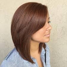 stacked hair longer sides 60 inspiring long bob hairstyles and haircuts side bangs bangs