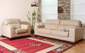 interesting living room design ideas with sofas in beige accent