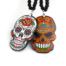 aliexpress buy colored print skull totem badge car fashion
