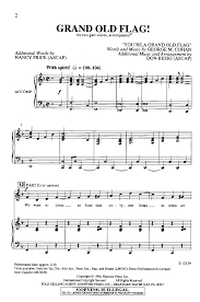 Nancy Price by Grand Old Flag Two Part By Don Besig U0026 Na J W Pepper Sheet Music