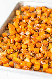 roasted butternut squash for a crowd sweet savory by shinee