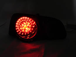 2011 vw cc led tail lights 4 pieces cherry red smoke rear led tail lights for 2006 2010 vw
