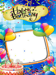 birthday card photo editor android apps on google play
