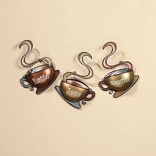 Coffee Wall Decor For Kitchen Coffee Decorations For Kitchen Amazon Com