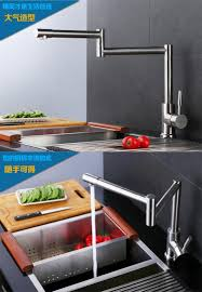 Kitchen Faucet Extension by New Disigh Extension Type Folding Kitchen Sink Faucet Water Tap