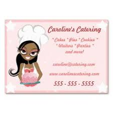 Catering Calling Card Design Cake Decor Bakery Chef Business Card I Love This Design It Is