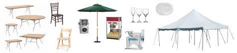 the rental place equipment rentals party rentals in santa rosa