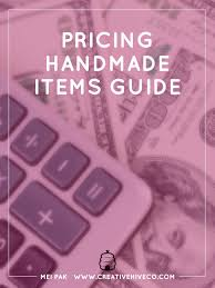 Secure Your Valuable Items With - pricing handmade items guide