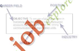 Sample Resume Objectives General by Career Objective Examples Business
