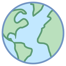 World Map Ai File Free Download by Globe Icon Free Download At Icons8