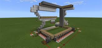 automatic house builder redstone minecraft pe maps