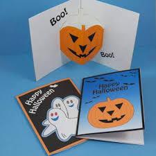 halloween greeting cards simple u0026 decorative halloween greeting cards
