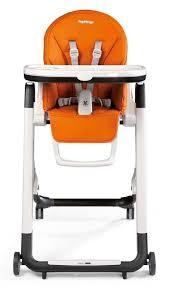 chaise haute b b peg perego siesta arancia chaise haute pour bébé orange peg perego baby