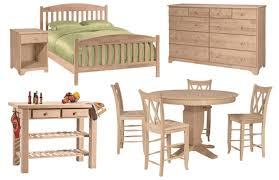 wood furniture unpainted wood furniture interior home design