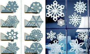 Decoration For Christmas To Make by Snowflakes Craft And Decorate The Apartment For Christmas Nice
