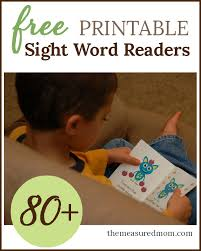 free emergent readers emergent readers sight words and words