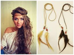 bohemian hair accessories diy boho hair dos and accessories that will make you look chic