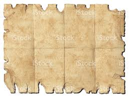 Treasure Map Clipart Treasure Map Old Distressed Torn Blank Paper Clipping Path Stock
